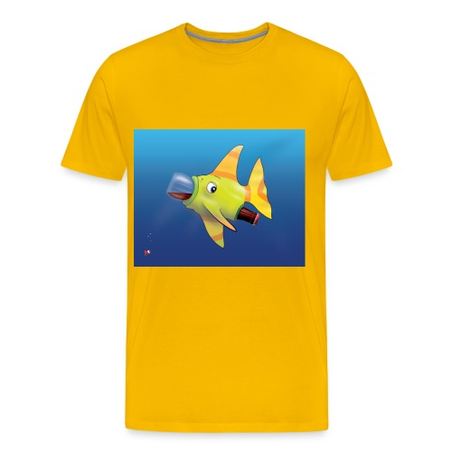 Greedy Fish - T-shirt Premium Homme