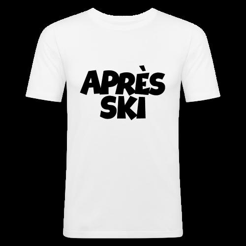Après-Ski T-Shirt - Männer Slim Fit T-Shirt