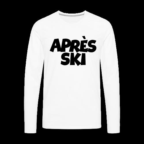 Après-Ski Sweatshirt - Männer Premium Langarmshirt