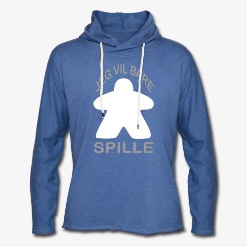 Jeg vil bare spille - Lett unisex hette-sweatshirt