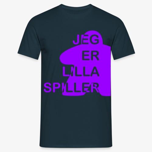 Jeg er lilla spiller - T-skjorte for menn
