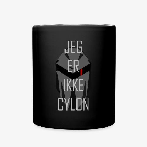 Jeg er ikke en Cylon - Ensfarget kopp