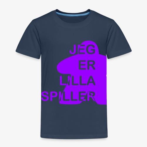 Jeg er lilla spiller - Premium T-skjorte for barn