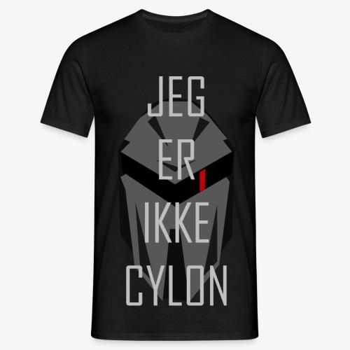 Jeg er ikke en Cylon - T-skjorte for menn