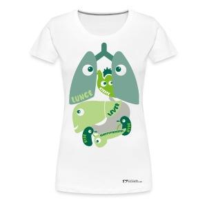 Organene t-skjorte – dame - Premium T-skjorte for kvinner