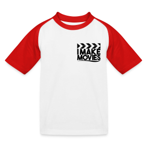 iMakeMovies Baseball T-shirt Kids - Kinderen baseball T-shirt