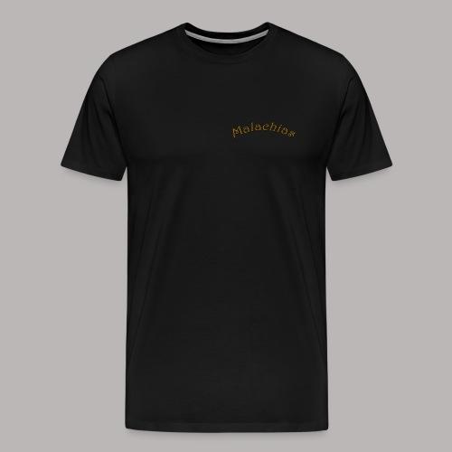 Shirt Logo Hinten 1 Malachias - Männer Premium T-Shirt