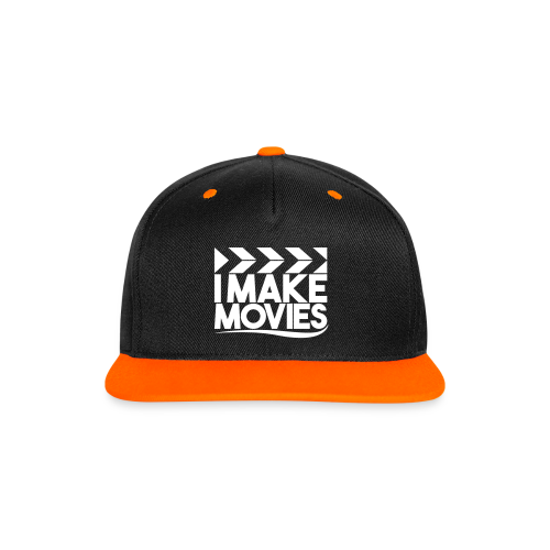 iMakeMovies Contrast Snapback Cap - Contrast snapback cap