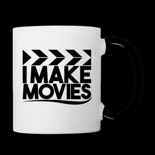 iMakeMovies Contrast Mok - Mok tweekleurig