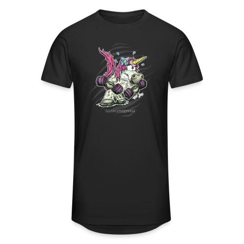 train like a unicorn - Männer Urban Longshirt