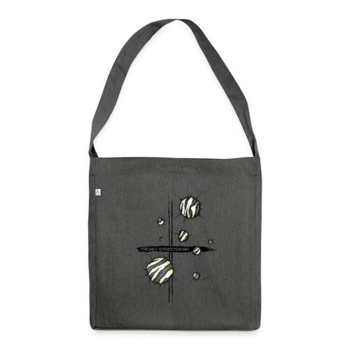 Animal inside - Schultertasche aus Recycling-Material