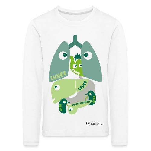 Organene genser – barn - Premium langermet T-skjorte for barn
