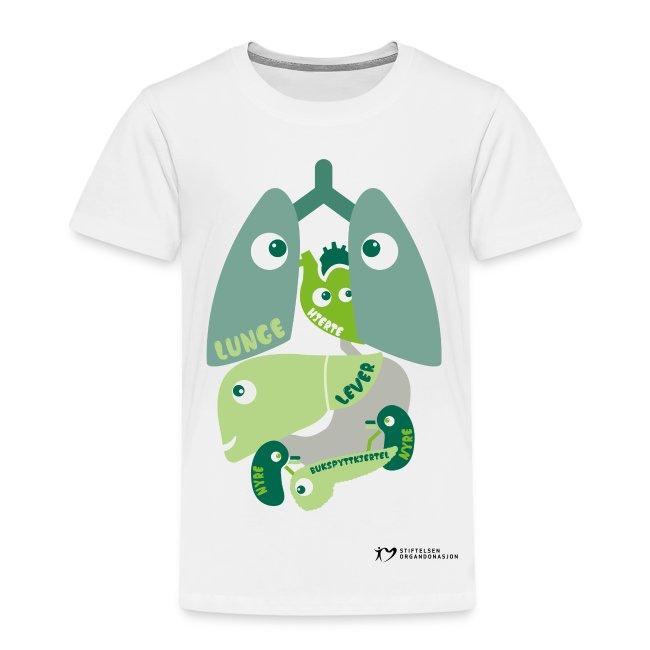 """""""Organene"""" t-skjorte – barn"""