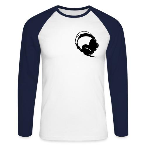 Singlet - Langermet baseball-skjorte for menn