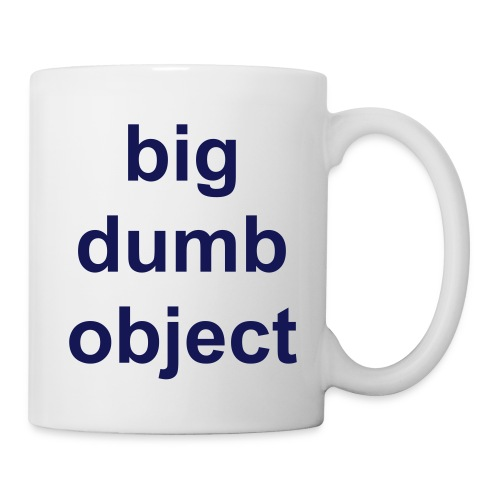 Big Dumb Object Mug - Mug