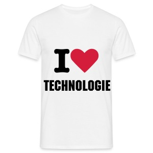I [heart] technologie ! - T-shirt Homme