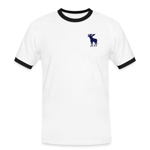 Norprofil trykk  - Kontrast-T-skjorte for menn