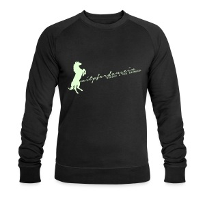RU Font, Men Biosweater ( Print White glowing in the dark) - Männer Bio-Sweatshirt von Stanley & Stella