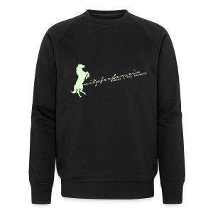 RU Font, Men Biosweater ( Print White glowing in the dark) - Männer Bio-Sweatshirt von Stanley & Stella