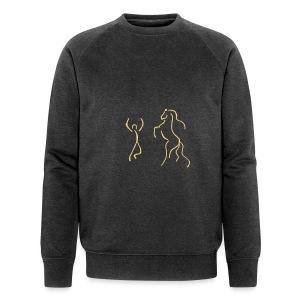 Energy, Men Biosweater ( Print  Sand) - Männer Bio-Sweatshirt von Stanley & Stella
