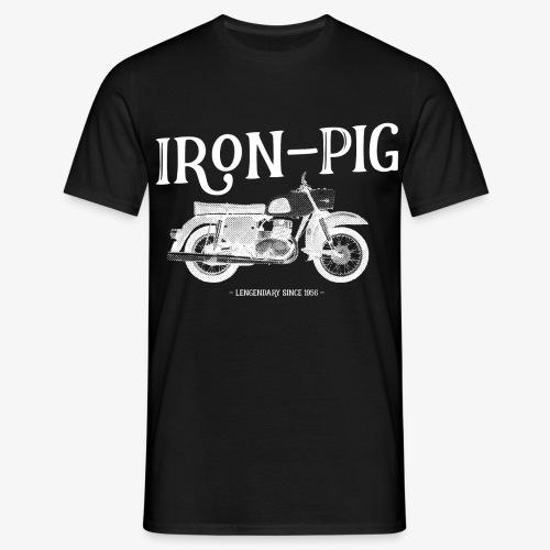 Iron Pig - Männer T-Shirt