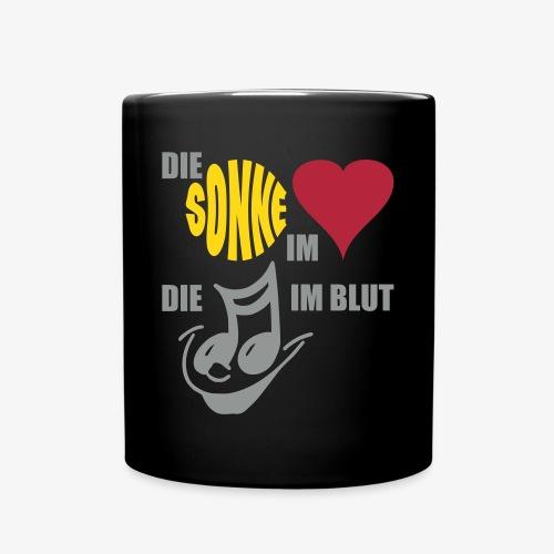 Die Sonne - SUTO Tasse - Tasse einfarbig