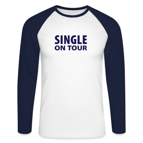 Single on Tour - Männer Baseballshirt langarm