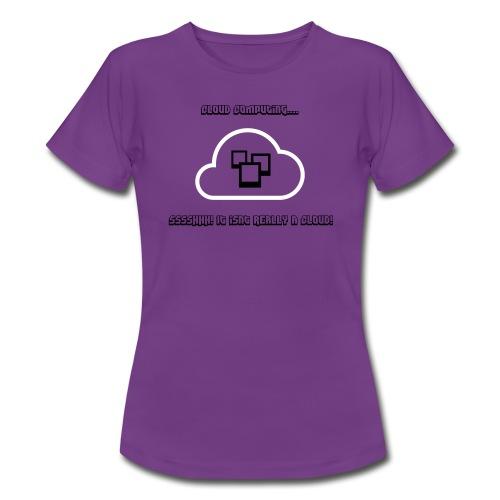 the cloud - Women's T-Shirt