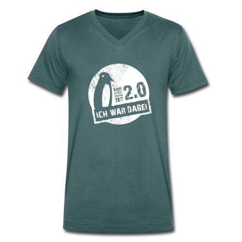 Vodena 2.0 Shirt - Männer Bio-T-Shirt mit V-Ausschnitt von Stanley & Stella