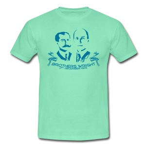 Brothers Wright - Männer T-Shirt
