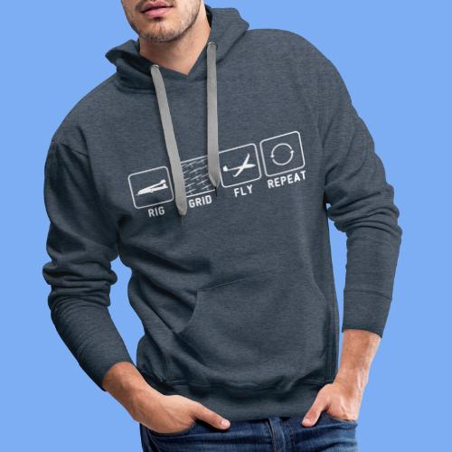 gliding competition - Men's Premium Hoodie
