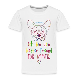 Bester Freund Frenchie - Kinder Premium T-Shirt