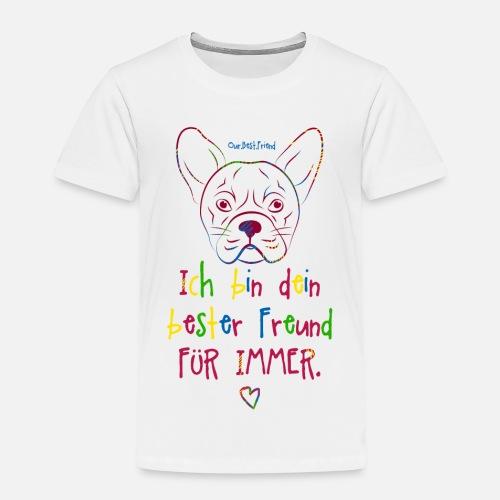 Bester Freund Frenchie - Kinder Premium T-Shirt