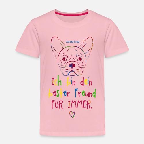Bester Freund Frenchie - Kinder Premium T-Shirt - Kinder Premium T-Shirt