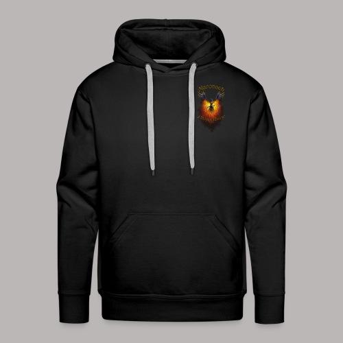 Hoddie Logo Hinten Maronach - Männer Premium Hoodie