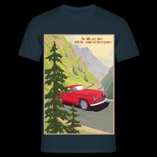 The sound of horsepower - Mannen T-shirt