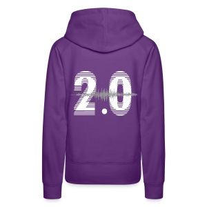 Dames Hoodie logo voor&achter / Voor de avonden zonder gaskachel - Vrouwen Premium hoodie