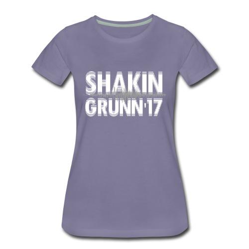 Dames shirt - bio / logo voor&achter / in duizelingwekkend aantal kleuren te bestellen! - Vrouwen Premium T-shirt