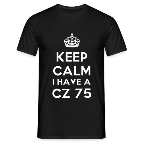KeepCalmCZ75 - T-shirt Homme