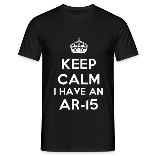 KeepCalmAR15 - T-shirt Homme