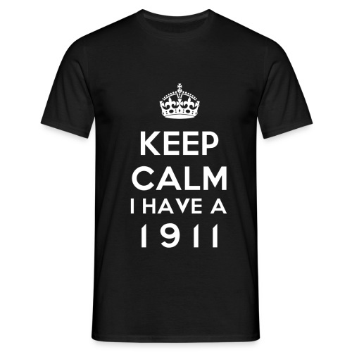 KeepCalm1 - T-shirt Homme