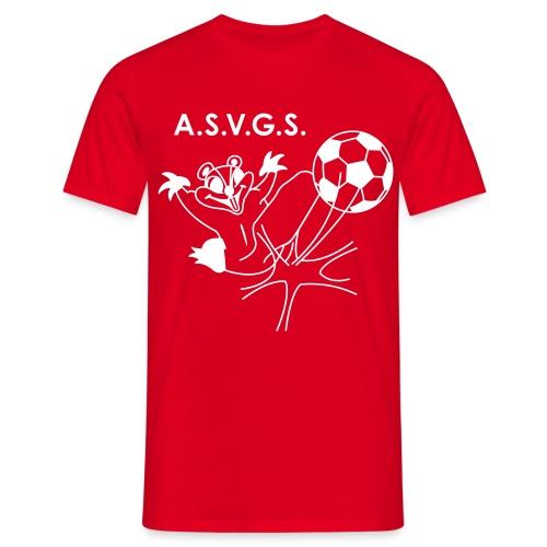 T-Sh Standard - Rouge -Grand logo - T-shirt Homme