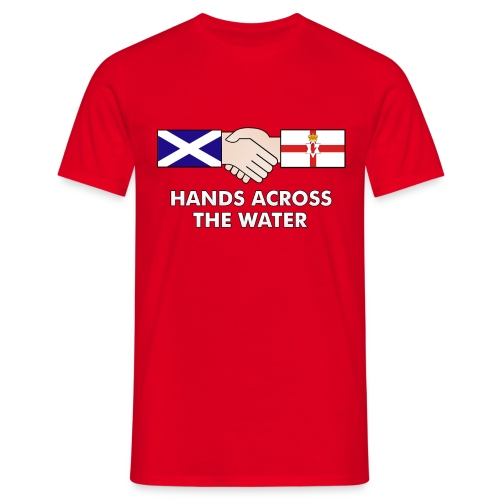 Hands Across The Water - Men's T-Shirt