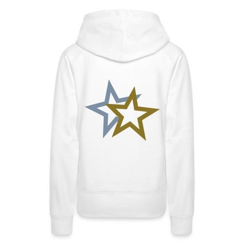 Metallic Star Hoody - Women's Premium Hoodie