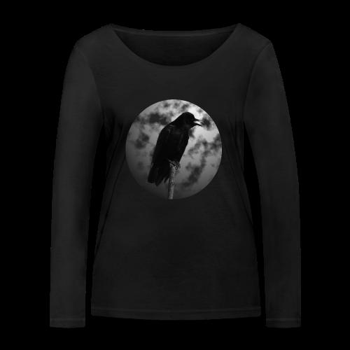 Rabe Mond Gothic Langarmshirts - Frauen Bio-Langarmshirt von Stanley & Stella