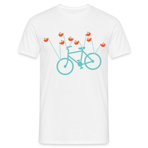 Fail bike - Mens - White - Men's T-Shirt