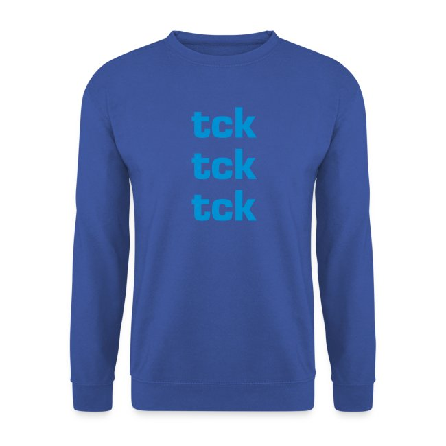 sweat homme tck tck tck