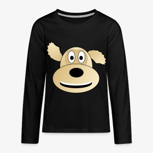 Hund Foxy- Teenager Shirt - Teenager Premium Langarmshirt
