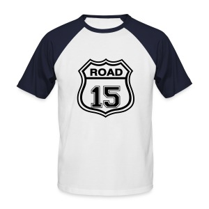 ROAD 15 - T-shirt baseball manches courtes Homme
