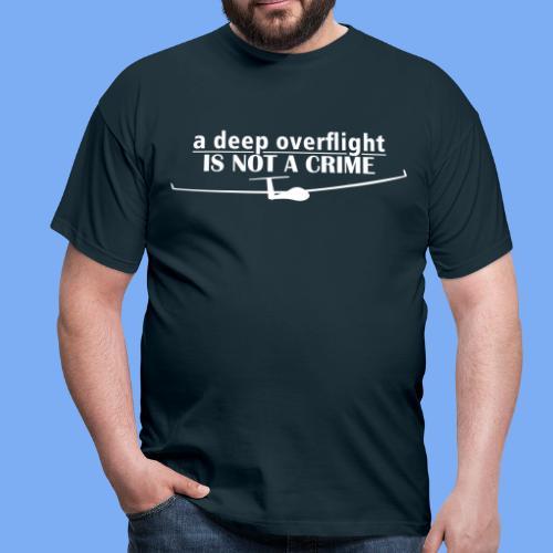 tiefer Überflug  - Men's T-Shirt